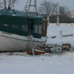 sinkendes Schiff Greifswald