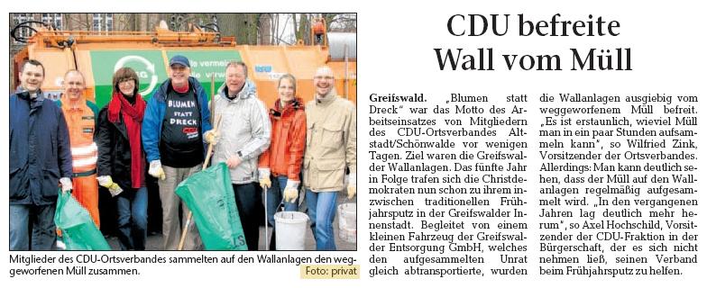CDU Greifswald Müll