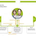 deutschland stipendium grafik