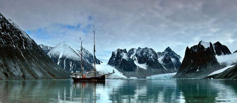 spitzbergen svalbard lovis