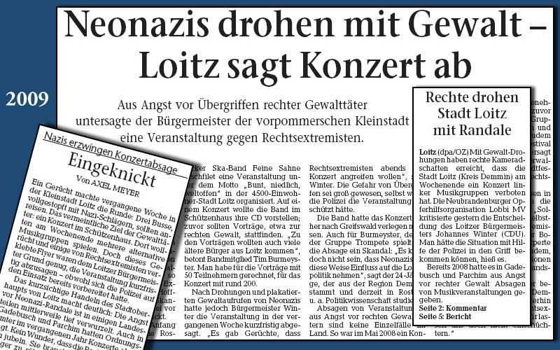 Feine Sahne Fischfilet Release Loitz