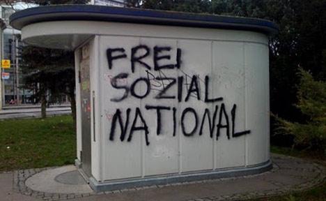 Nazi Schmiererei Greifswald