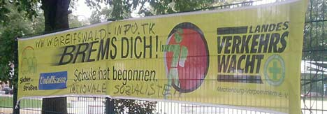 Nazischmiererei: Greifswald Info
