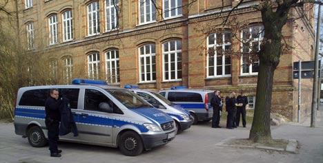 castor2011 polizei greifswald