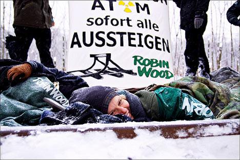 Castor Lubmin Robin Wood