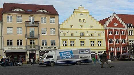 NPD Mobil in Greifswald