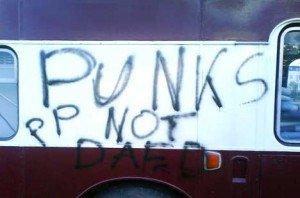 punks not daed