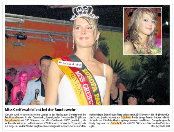 miss greifswald