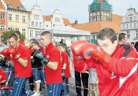 Boxen als Gewaltprävention