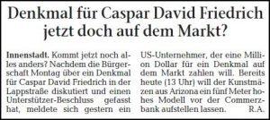 Denk mal! Eine Million für Caspar David Friedrich