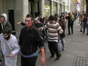 Zombies in der Innenstadt