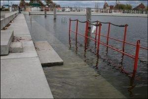 Hochwasser in Greifswald