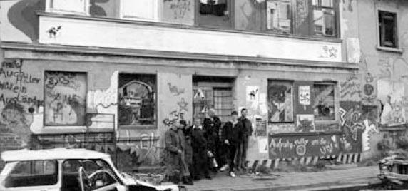Wendezeit Greifswald Jugendliche in der Wachsmannstraße