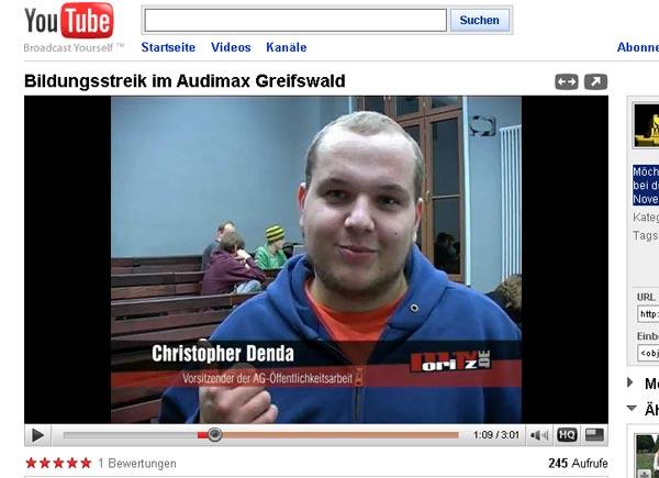 """Moritz TV: """"Möchtegern-Helden und übernächtigte Studenten"""""""