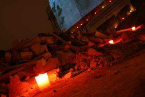 Bilder der AJZ-Gedenkveranstaltung