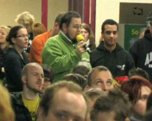 Moritz TV berichtet über die Vollversammlung der Studierendenschaft
