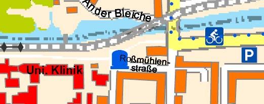 Neue Karten und Stadtpläne von Greifswald