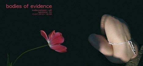 """Ausstellungseröffnung """"Bodies of Evidence"""""""