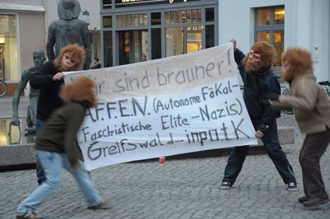 NPD Protest Greifswald