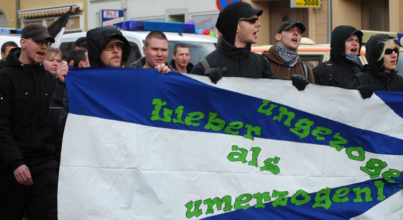 Demonstration Greifswalder Neonazis