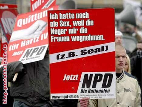 NPD Plakat