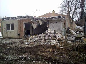 WBS 70 abgerissen