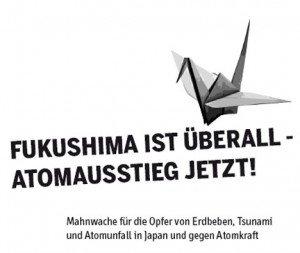 Anti-Atom-Mahnwachen gehen weiter