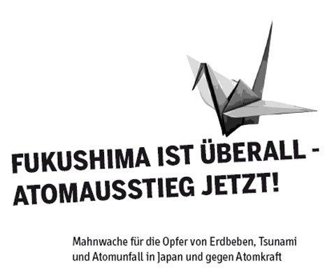 fukushima mahnwache