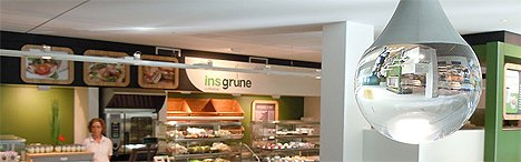 insgrüne Cafeteria Mensa Greifswald