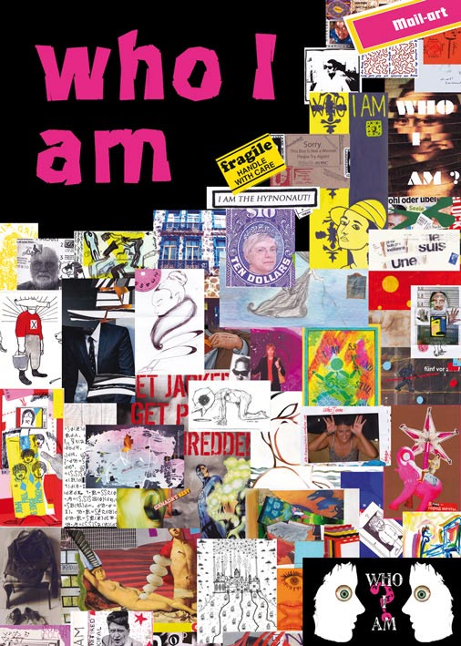 "Internationale Mailart-Ausstellung ""Who I am"""