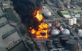 oil refinery explosion japan