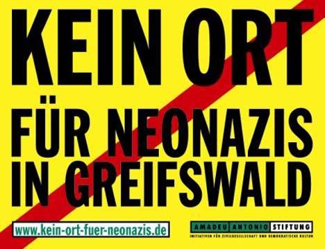 kein ort für neonazis greifswald