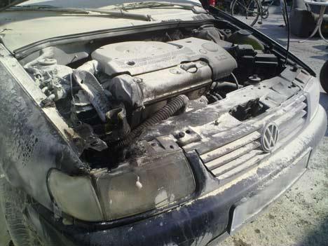 brandanschlag auto