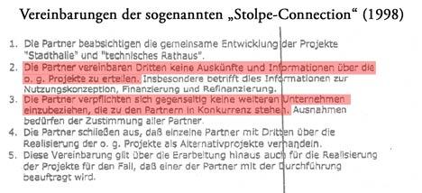 stolpe connection vereinbarung technisches rathaus greifswald