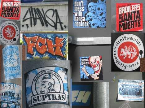 cdu aufkleber streetart