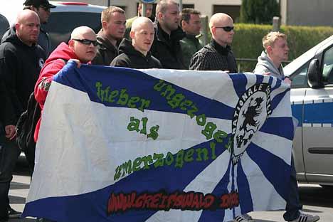 NPD greifswald nationalisten