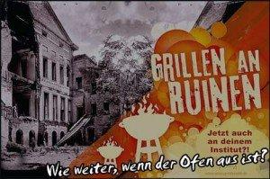 Moritz TV: Grillen an den Ruinen