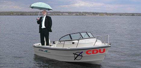 Sintflut: Greifswald geht unter, doch an Wahlkampf denkt niemand