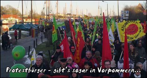 Greifswald goes WDR: Dokumentation über Greifswalder Anti-Atom-Protest