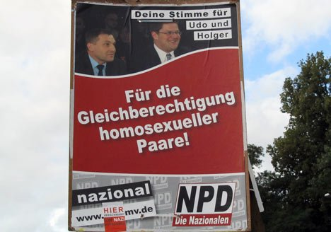 npd plakate affirmation