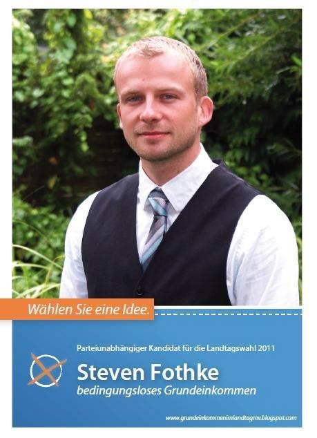 Im Gespräch mit Steven Fothke (Grundeinkommen im Landtag MV)