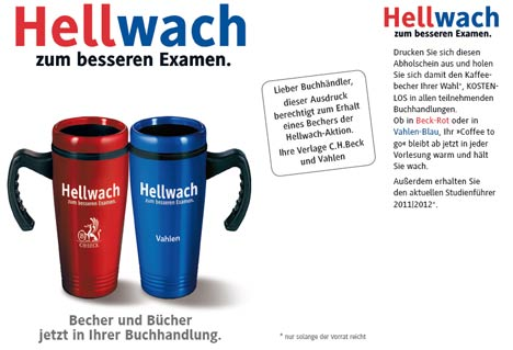 coupon hellwach