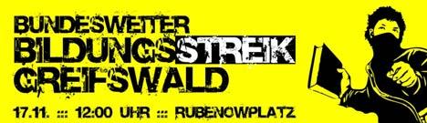 bildungsstreik greifswald