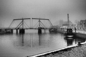 Festgehalten: Und von der Nebelbank grüßt verhalten der Winter