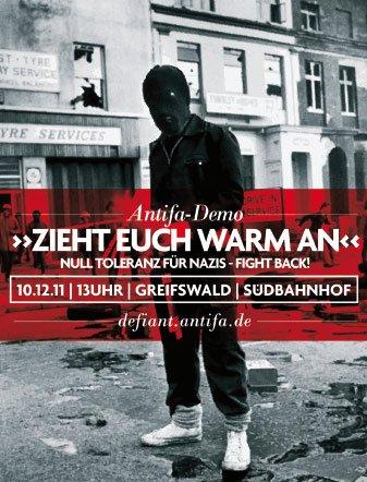 Weil es uns alle angeht: Unterstützt die Greifswalder Antifa-Demo!