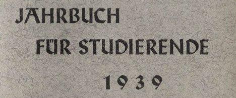 1939 jahrbuch universität