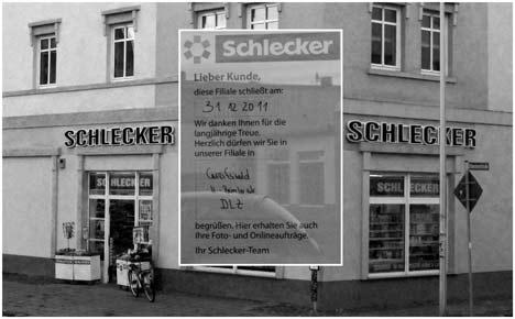 Filialschließungen — Schlecker-Krise erreicht Greifswald