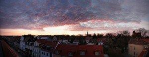 Festgehalten: apokalyptisches Panorama der Fleischervorstadt