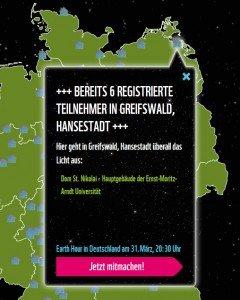 Gewissen in Ruhe: In Greifswald gehen die Lichter aus