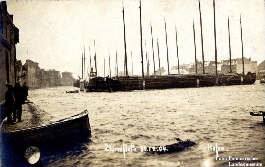Sturmflut Greifswald